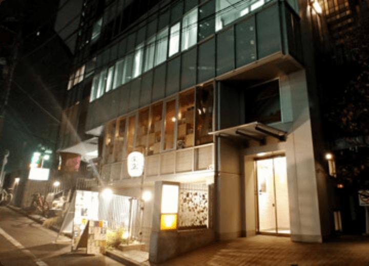 渋谷オフィス外観 夜
